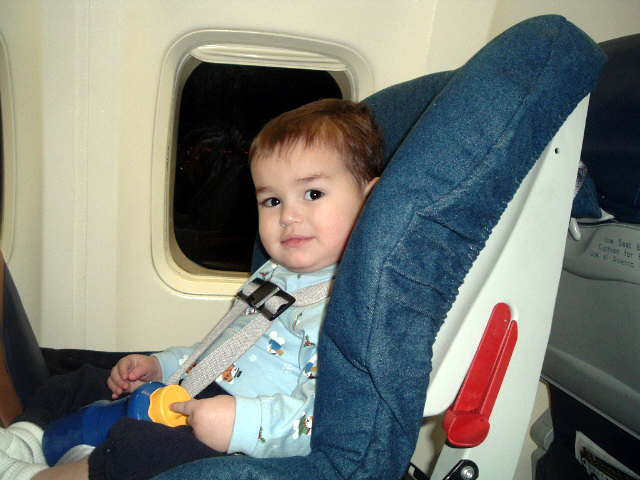 Carseats on the plane