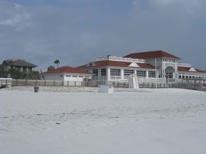 The Crab Trap beachside restaurant in Destin, Florida.
