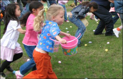 10,000 Easter Eggs in Boston for the Phillips 17th Annual Easter Egg Hunt