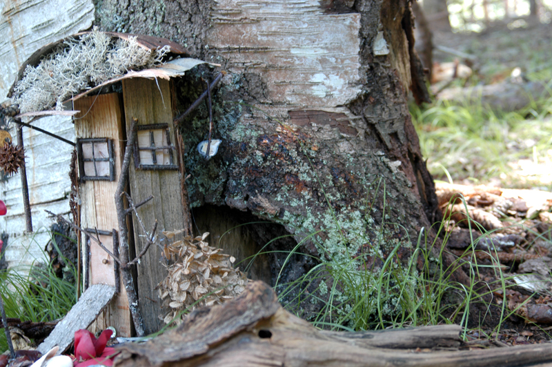 Fairy Houses, Free Family Fun in Mackworth Island & Portland, Maine