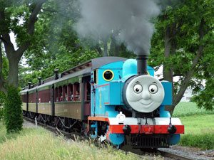 All Aboard a Day Out With Thomas in Strasburg, PA