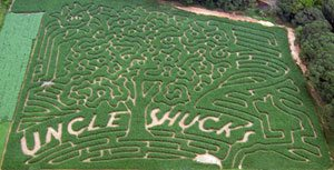 Get Lost in North Georgia at Uncle Shuck's Corn Maze