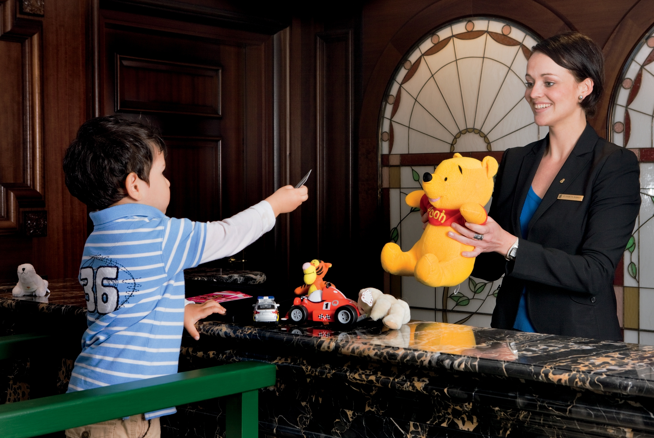 Rooms: Berlin With Kids: Ritz Carlton Gives Kids Royal Treatment