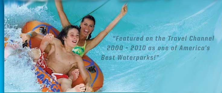 Win Two Lifetime Passes for America's Largest Waterpark