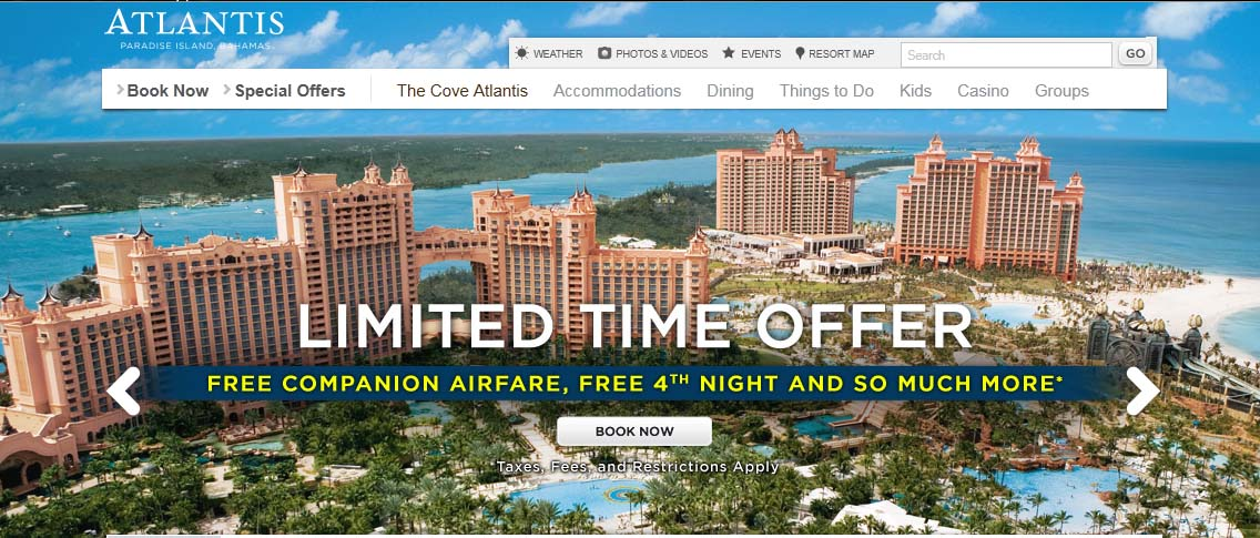 $5 slots in atlantis bahamas vacation packages