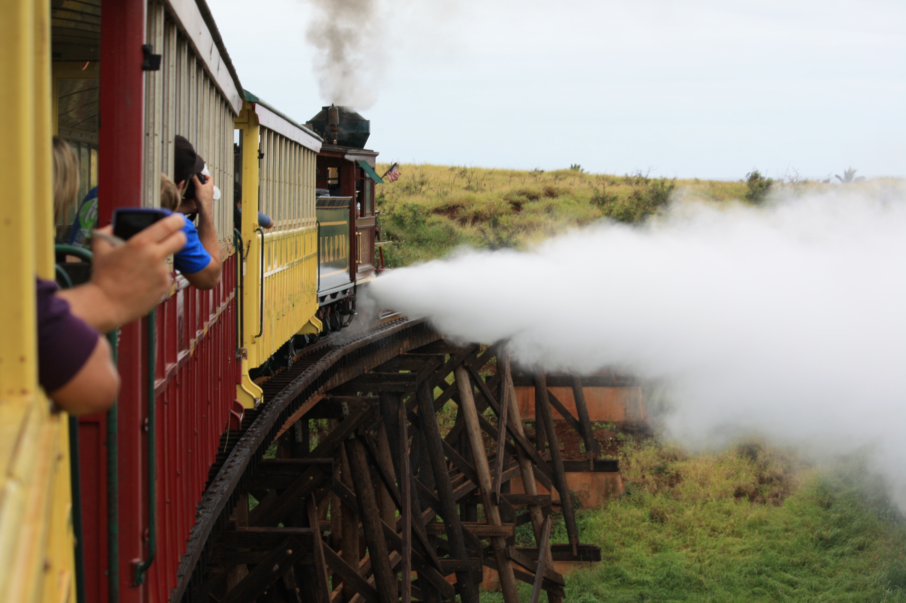Things to do in Maui with Kids: Maui Sugar Cane Train