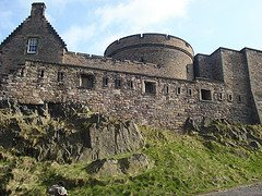 The photo above shows Edinburgh Castle, an ideal family activity.