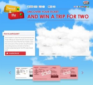 Tweet and Fly with Iberia