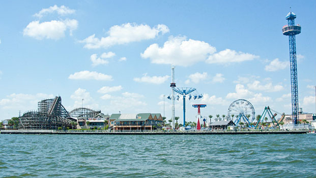 Visiting the Kemah Boardwalk