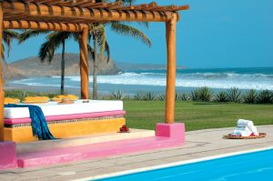 PoolsidePergola Las Alamandas Resort Mexico