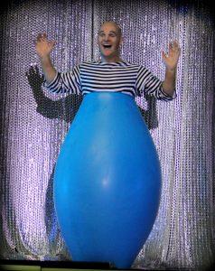 Dizzy the clown Le Grand Cirque Adrenaline