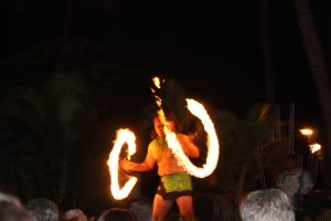 Hawaiian luau in Maui, photo copyright Stephany Wiestling, all use must link to BestKidFriendlyTravel.com