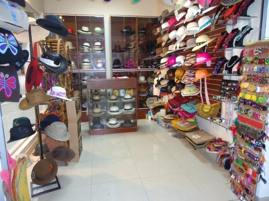 La Ronda Street's Hat Shop