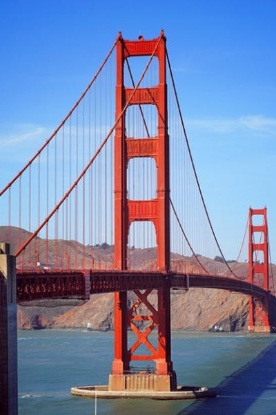 Golden Gate Bridge in San Francisco. BestKidFriendlyTravel.com