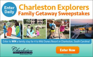 Charleston Explorers Family Getaway Sweepstakes