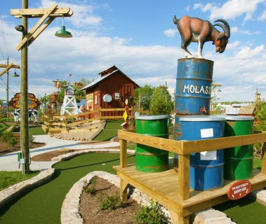courtesy of Ripley's Old MacDonald's Farm Mini-Golf