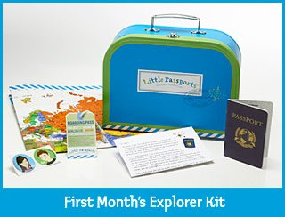 Give Your Child the World with Little Passports!