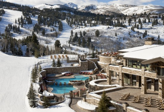 Pool and Decks at The St Regis Deer Valley