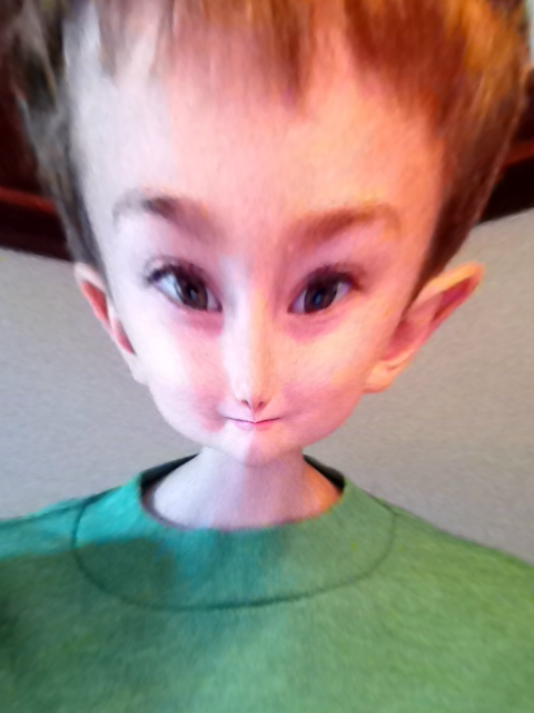 Photo Friday: Alien Head – Fun with Photo Booth for iPad