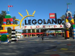 Legoland FL Front Gate - photo copyright Stephany Wiestling. All rights reserved.