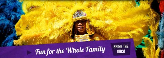 Family Gras - photo credit: MardiGrasNewOrleans.com/familygras
