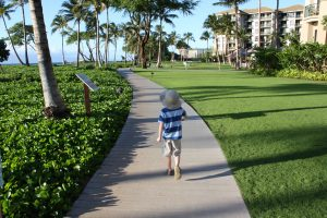 Maui - Kaanapali boardwalk - photo credit: Stephany Wiestling - all rights reserved.