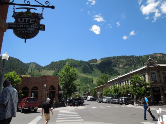 Downtown Aspen - photo copyright Stephany Wiestling - all rights reserved.