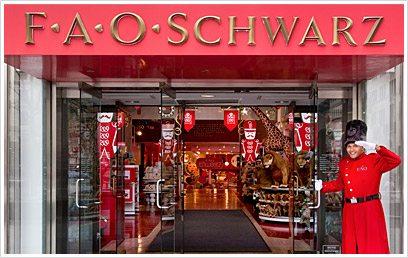 photo courtesy of FAOSchwarz.com