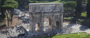 Arch of Constantine - photo courtesy of Dark Rome Tours