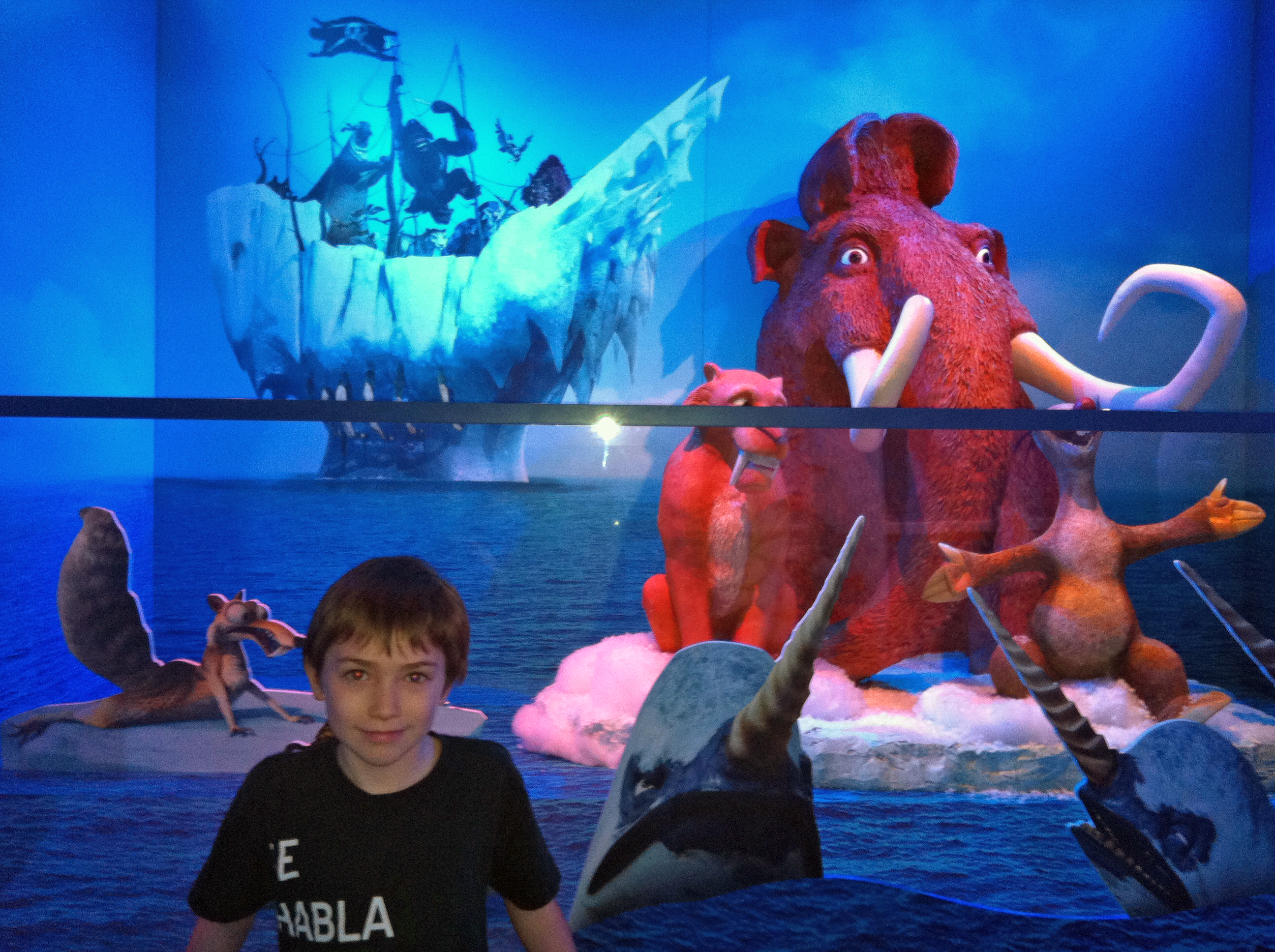 Camp Ice Age at Mall of America Opens Today!