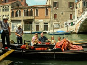 Gondola Ride in Venice - To Europe With Kids.com