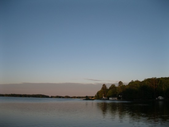Stoney Lake at Dawn, the Kawarthas