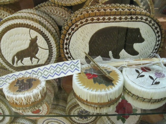 Ojibwa Crafts with Porcupine Quills, Whetung Gallery