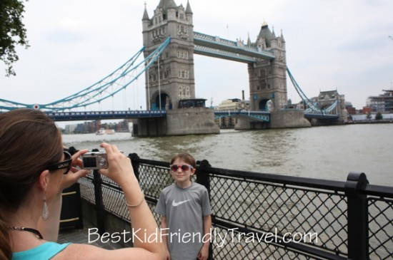 Tower Bridge - London vacation - copyright Stephany Wiestling - All rights reserved.