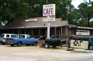The Shed Cafe - Edom Texas, East Texas, Famous Texas Cafe from Austin Gastronimist - used with permisssion