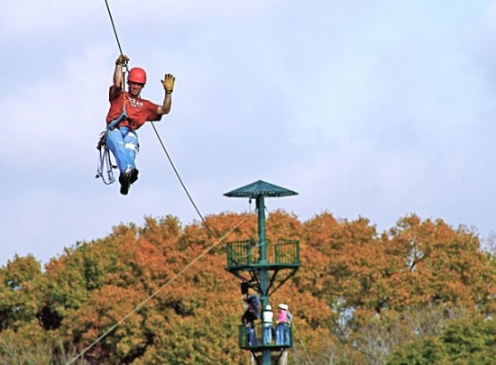 WIRED Zip Line Challenge Course, East Texas