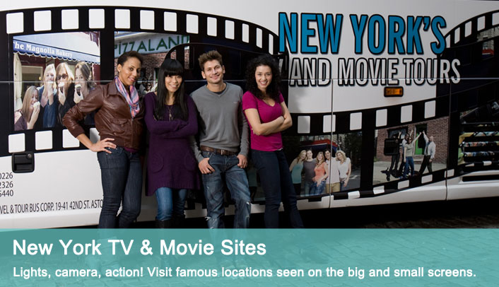 Win a Movie Tour Package for 4 in NYC from On Location Tours!