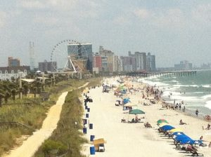 Myrtle Beach boardwalk. Photo copyright Stephany Wiestling, all rights reserved.