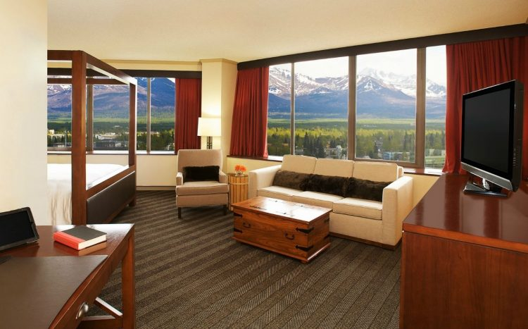 Sheraton Anchorage Hotel Spa JuniorSuite