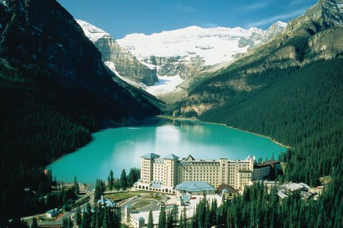 The Fairmont Chateau Lake Louise - Banff Canada Hotels