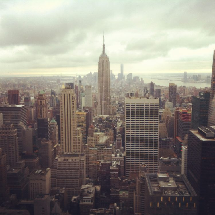 view from the Top of the Roc in New York City - photo by Stepany Wiestling, all rights reserved.