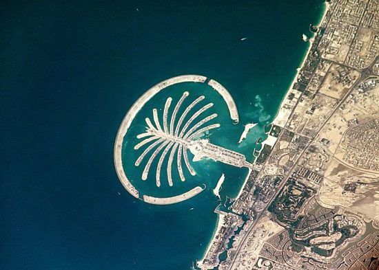 Palm Island Dubai courtesy Wikipedia.com