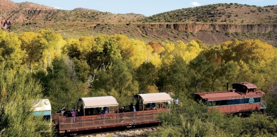 Riding the Rails of The Verde Canyon in Arizona