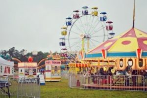 Located at the Vidalia Regional Airport, the Carnival offers unlimited-ride wristbands for Thursday and Friday, as well as free parking. Credit: Vidalia Onion Festival