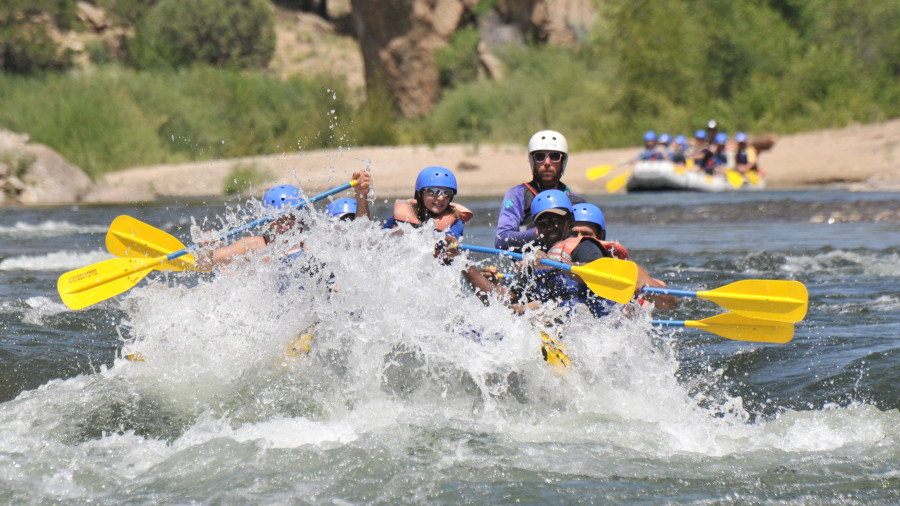 White Water Rafting is a Great Family Summer Activity in Colorado