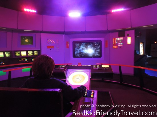 The Bridge at Star Trek: The Exhibition at Mall of America®