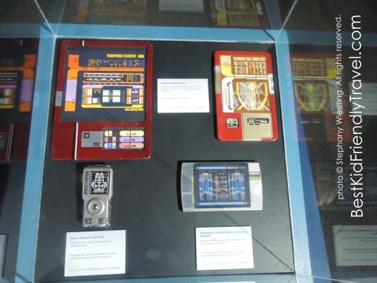 Personal Access Display Devices (PADDs)  at Star Trek: The Exhibition at Mall of America®