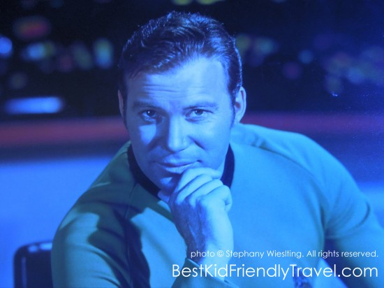 Captain James T. Kirk of the Starship Enterprise - Star Trek: The Exhibition at Mall of America®