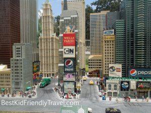 Miniland NYC at LEGOLAND Florida from BestKidFriendlyTravel.com