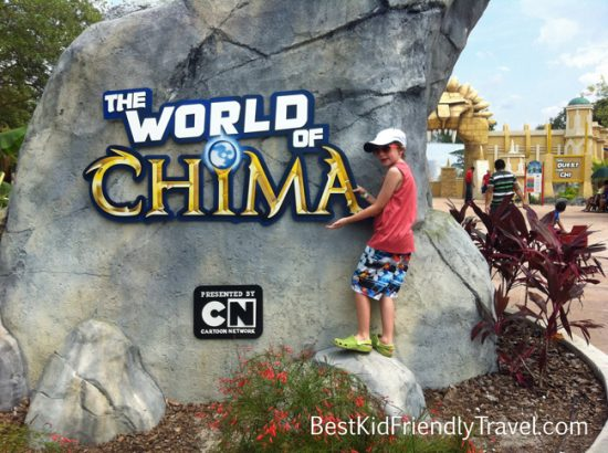 World of Chima at LEGOLAND Florida from BestKidFriendlyTravel.com